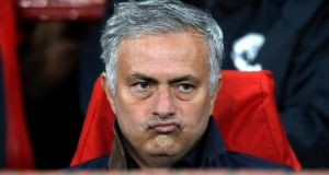 Jose Mourinho: the Premier League's most accomplished attention-seeker. Photograph: Martin Rickett/PA