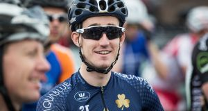 Eddie Dunbar is is competing in the Tour of Guangxi with Team Sky. Photograph: Inpho