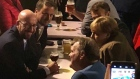 EU leaders take a break from Brexit talks and go for a beer