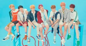 The K-pop group BTS, who are currently on a huge tour of the UK
