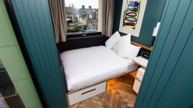 The Devlin: room rates start at €120 for a ModPod