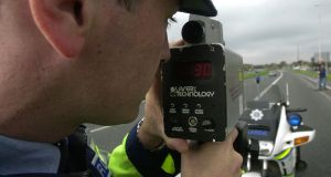 According to garda figures, 28,454 motorists were speed-checked in the first three hours of National Slow Down Day on Friday with 44 being caught speeding. File photograph: Cyril Byrne/The Irish Times
