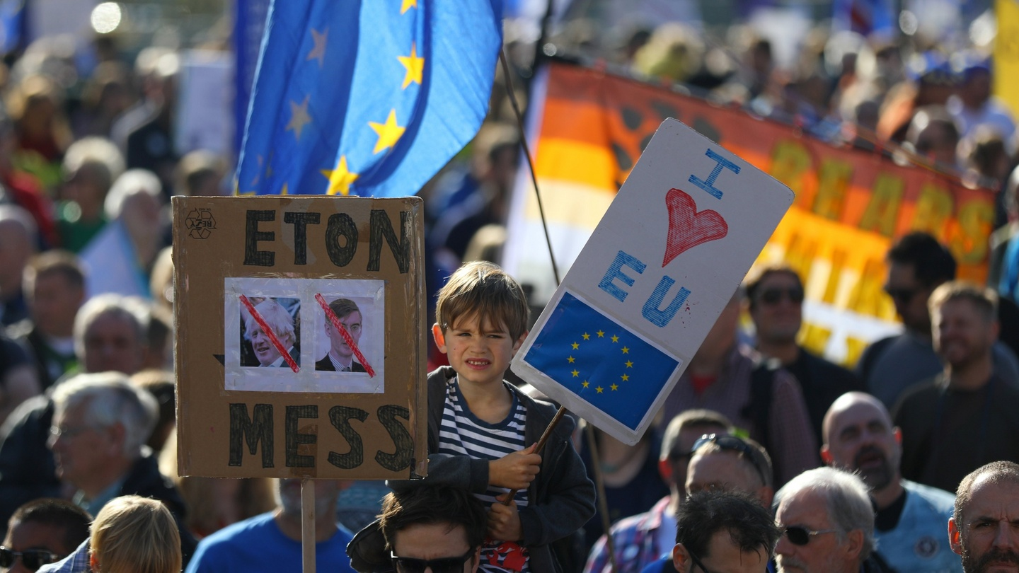 Image result for brexit european union brussels demonstration