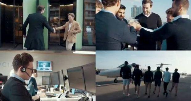 Image problem: stills from Haigh Associates' recruitment video
