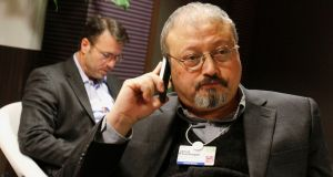 Saudi journalist Jamal Khashoggi is said by Turkish officials to have died in a botched attempt at interrogation and abduction. File photograph:  Virginia Mayo/AP