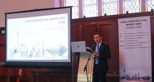 Helping to make China the number one market for Irish exporters