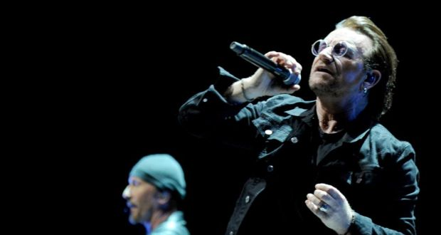 Experience + Innocence: U2 at the Manchester Arena. Photograph: Shirlaine Forrest/WireImage/Getty