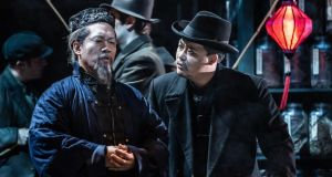 Wexford Festival Opera: Leon Kim and Joo Won Kang in L'Oracolo. Photograph: Clive Barda/ArenaPal