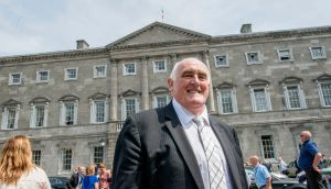 Senator Billy Lawless: 'Emigrants have always been in forefront in the fight for equality and democracy in Ireland and now it is our time. We have been denied the vote for far too long.' Photograph: Brenda Fitzsimons / The Irish Times