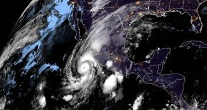 This NOAA/RAMMB satellite handout image  shows hurricane Willa off Mexico's Pacific coast. Photograph: NOAA/RAMMB/AFP