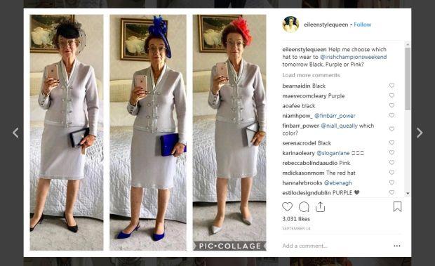 Instagram: Eileen Style Q   ueen