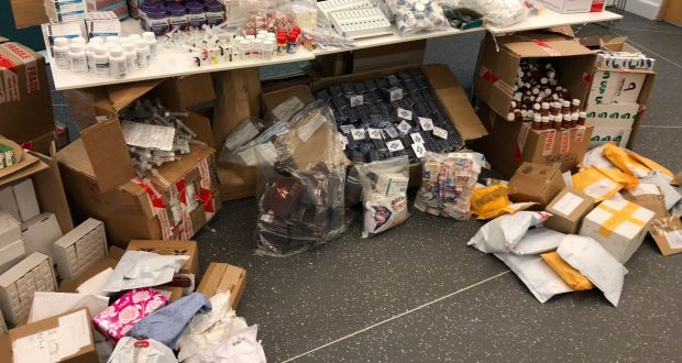 Anabolic steroids among €375,000 in illegal medicines seized