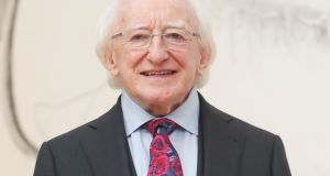 Michael D Higgins: 'What people will vote for on Friday is my record and my probity as a public representative for so long and in so many different offices.' Photograph: Niall Carson/PA Wire