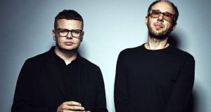 """We are friends and make music. Sounds a bit trite, but it's true."" Above, Ed Simons and Tom Rowlands aka The Chemical Brothers"