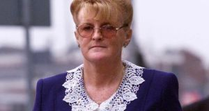 Catherine Nevin  was given a life sentence in April 2000 after being found guilty of murdering her husband Tom Nevin. Photograph: Collins