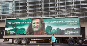 In 2015 Roy Keane took legal action against Paddy Power over a 'Braveheart' advertisement.