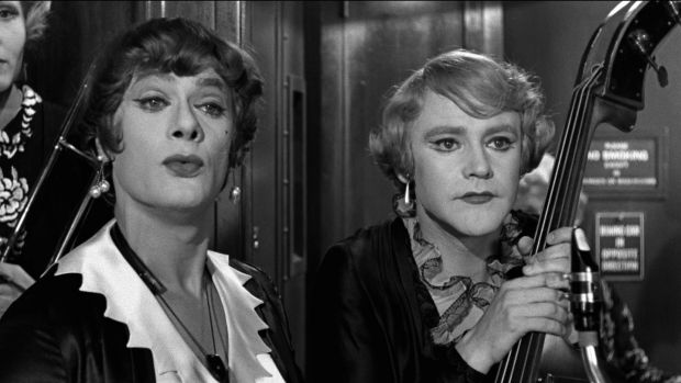 Tony Curtis and Jack Lemmon in 'Some Like It Hot'. Photograph: Metro-Goldwyn-Mayer Studios Inc