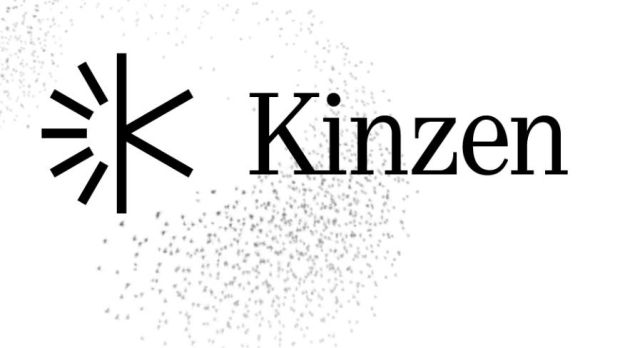 Kinzen: the logo for the news app company founded by Mark Little, Áine Kerr and Paul Watson.