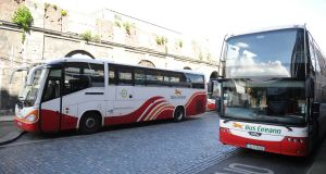 Passenger numbers have risen 12.9 per cent at Bus Éireann this year. Photograph: Aidan Crawley