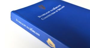 The  Constitution of Ireland: few people feel inhibited in their speech by Ireland's blasphemy laws, which have not seen a successful prosecution in the history of the State. Photograph: Alan Betson