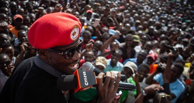 The Ugandan singer who could radically change his country