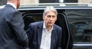 Philip Hammond has broken with the tradition of delivering the autumn statement on a Wednesday – October 31st, also known as Halloween. Photograph:  Chris Ratcliffe/Bloomberg