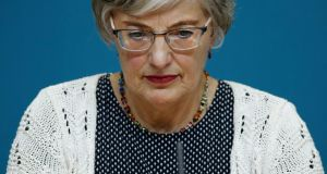 DIGGING UP THE PAST: Minister for Children Dr Katherine Zappone announced on Tuesday that remains at the former mother-and-babies home in Tuam would be exhumed. Photograph: Nick Bradshaw for The Irish Times