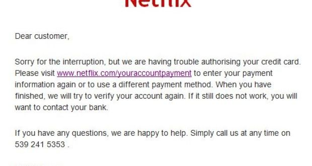 Netflix users targeted in fresh scam looking for updated