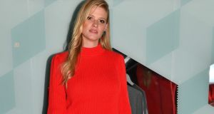 Lara Stone arriving for the launch party for Amazon's fashion pop-up shop in London this week. Photograph: PA Wire