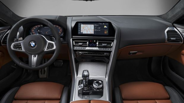 The dash carries is a 12.3-inch fully digital instrument cluster paired to a 10.25-inch infotainment touch screen, and most of the interior's functions are run by touching and swiping the smaller of the two screens.