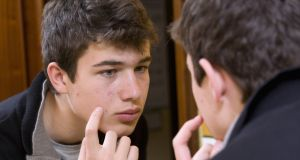 A good skincare routine will do a lot to help clear teenage acne. Photograph: iStock