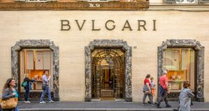 Bulgari Ireland's use in the brand's global tax structures has attracted close scrutiny from tax authorities in  Italy. Photograph: iStock