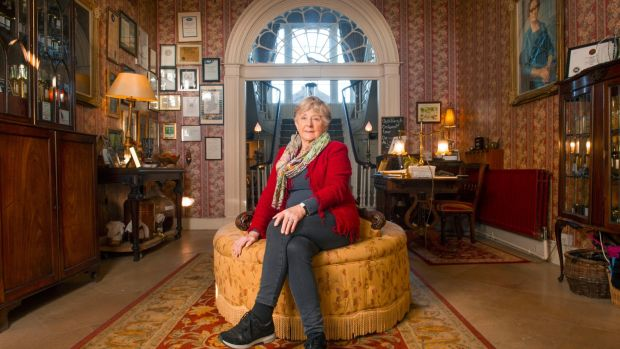 Jane O'Callaghan in Longueville House, Ballyclough, Mallow, Co Cork. Photograph: Daragh Mc Sweeney/ Provision
