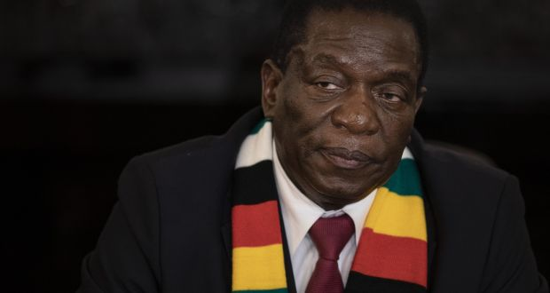 President Emmerson Mnangagwa: promised a different approach to governance than the one employed by his predecessor, the dictator Robert Mugabe. Photograph: Dan Kitwood/Getty Images