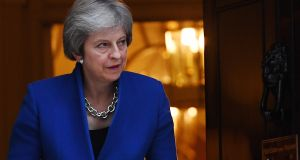 British prime minister Theresa May: her greatest defence remains the absence of plausible alternatives and the destructive potential of a leadership contest at a crucial stage in the Brexit negotiations. Photograph: EPA