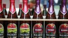 Bulmers performed well for C&C in the first six months of its fiscal year. Photograph: Nick Bradshaw