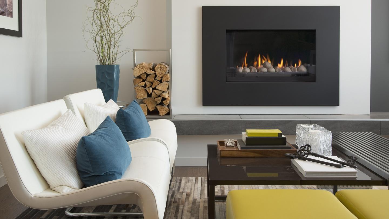 Felt fireplace interactive