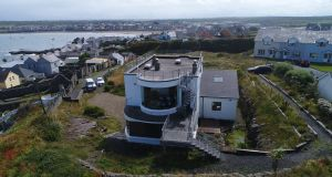 The unique property in the seaside town of Kilkee extends to over 4,000sq ft over three floors