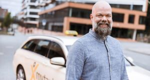 "Hamburg-based Eckart Diepenhorst who  took over in the driver's seat at MyTaxi  in June. ""Today, about 60 per cent of all traffic is happening inside cities and this is only going to grow,"" he says"