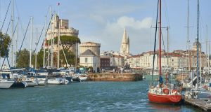 The marina, La Rochelle.