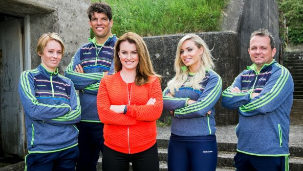 Fit enough for ya: Derval O'Rourke, Donncha O'Callaghan, Mairead Ronan, Anna Geary and Davy Fitz