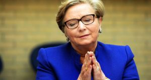 Frances Fitzgerald resigned as minister last year following controversy over her knowledge of a Garda legal strategy against Sgt McCabe. Photograph: Eric Luke / The Irish Times