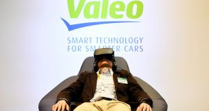 Valeo, which has a major research arm in Tuam, Co Galway, that is working at the forefront of driverless car technology, slashed its forecasts on Thursday after markets closed