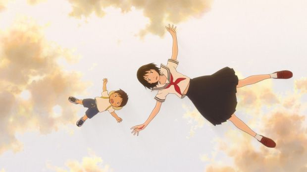 """'Mirai' is based on my children,"" says Hosoda, who wrote the script having observed the dark look on his own son's face upon seeing his younger sibling for the first time."