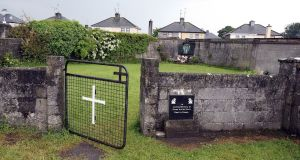 The Government's decision to undertake a forensic examination of the site at the former Mother and Baby Home in Tuam, Co Galway has already brought comfort to survivors of the Home and to relatives of children believed buried there. Photograph: Paul Faith/AFP/Getty Images