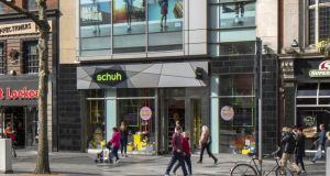 The Schuh store at 47/48 O'Connell Street