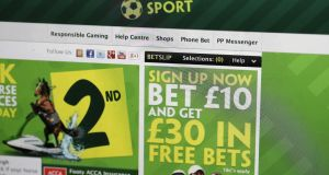 Paddy Power's advertisements are some of the most controversial in the gambling industry. Photo: Matthew Lloyd/Bloomberg via Getty Images