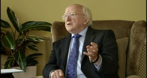 Michael D is a wily old political warhorse, and he manipulated the campaigning advantages of office skilfully. Photograph: Brenda Fitzsimons