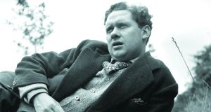 Dylan Thomas: not perhaps the most obvious writer of inspirational quotations about running. Photograph: Picture Post/Hulton Archive/Getty Images