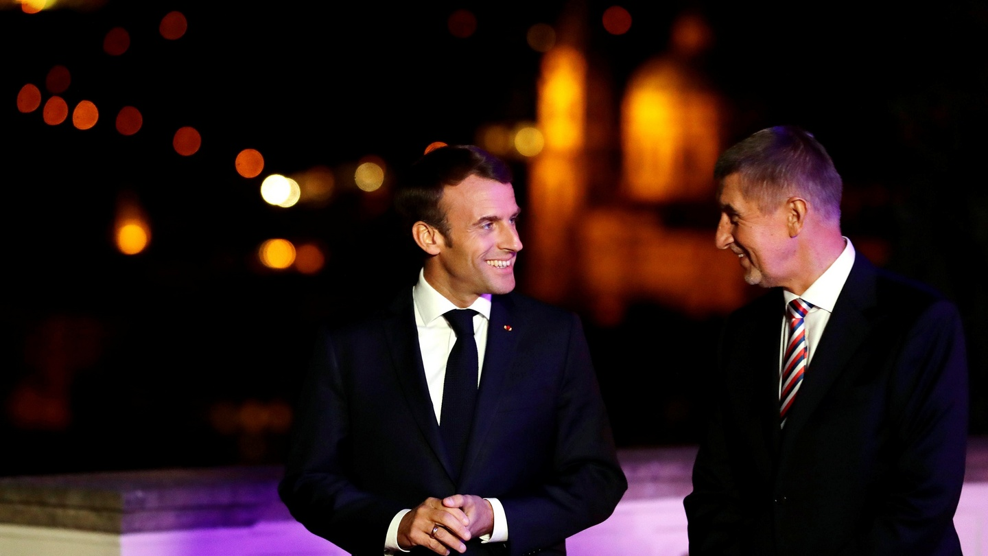 Macron Goes On Charm Offensive In Slovakia And Czech Republic